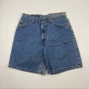 Vintage Levi's 950 High Waist Jean Shorts